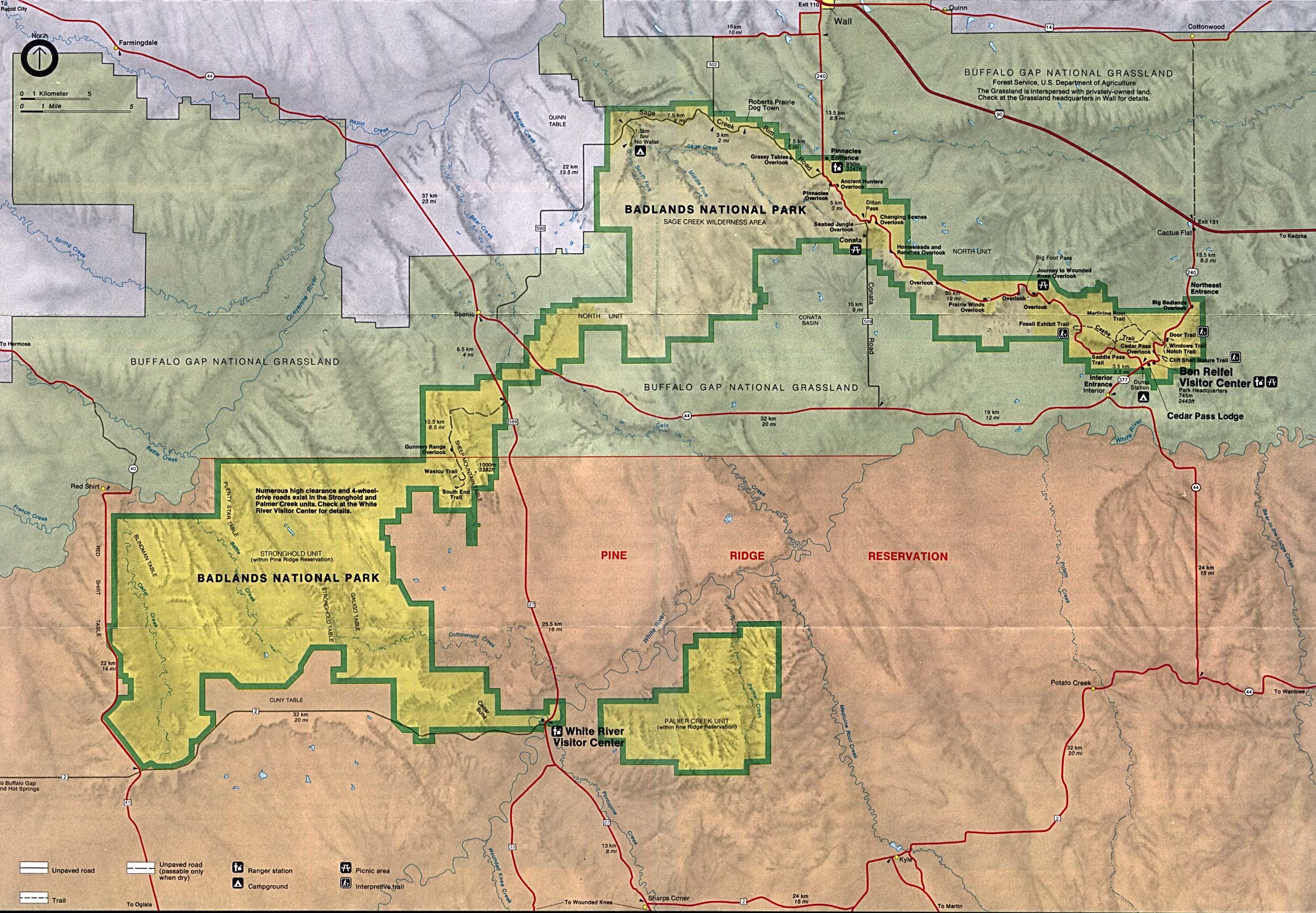 Reisenett Maps of United States National Parks