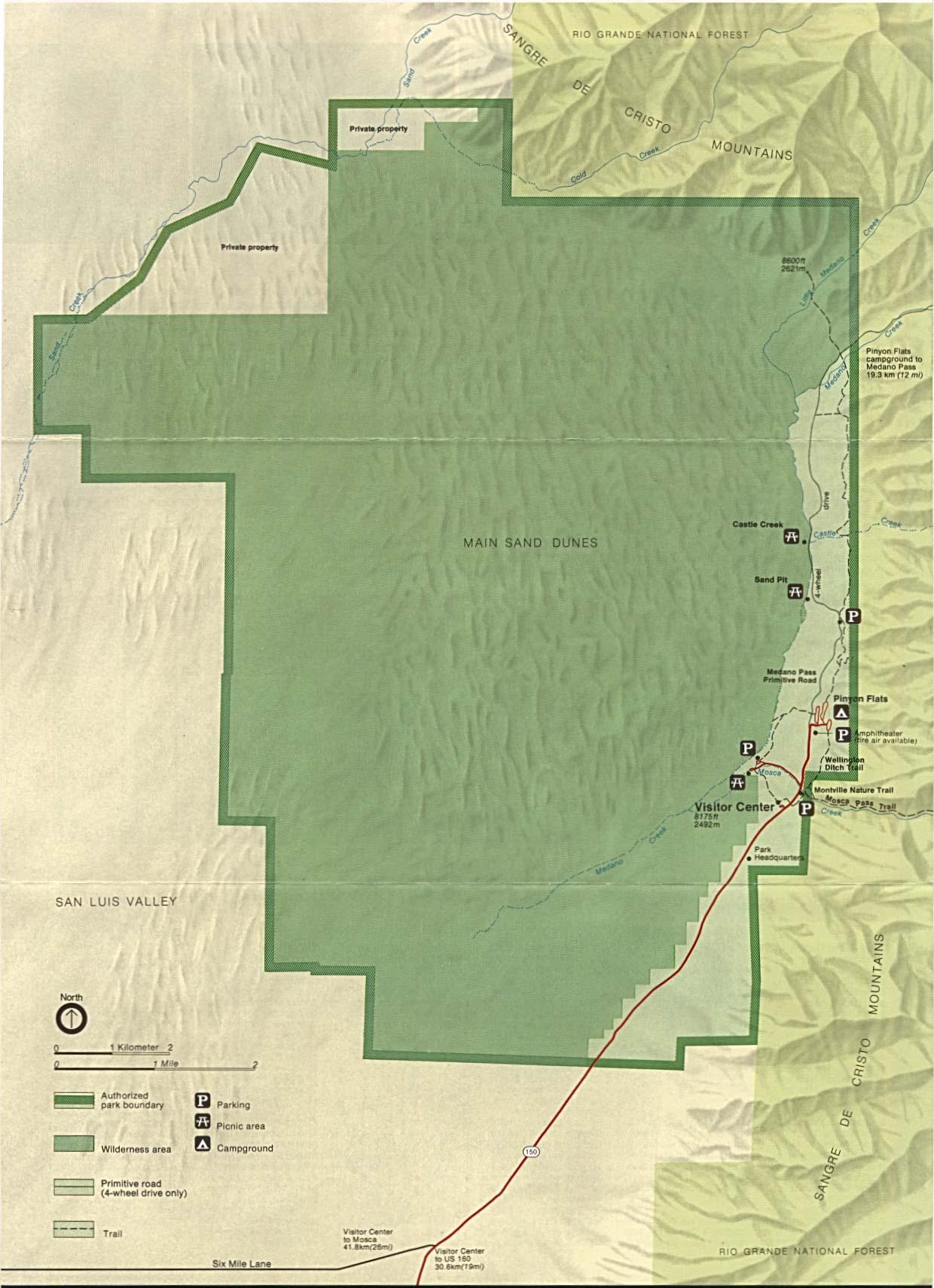 Reisenett: Colorado Maps