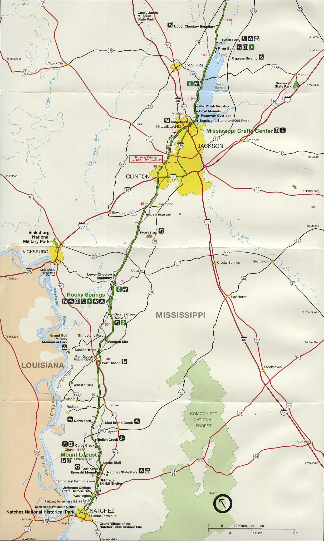 Reisenett Tennessee Maps