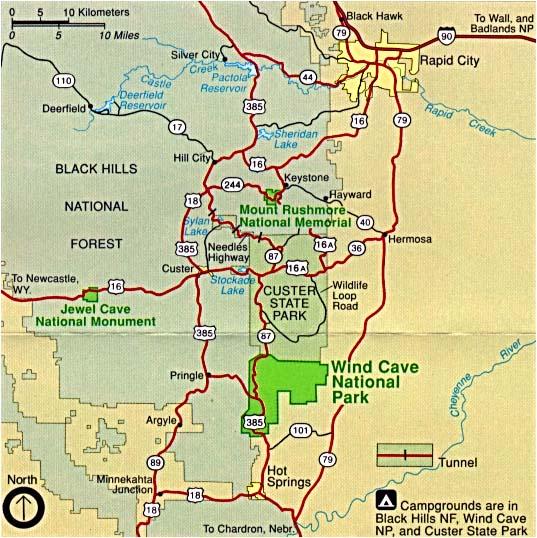 Reisenett South Dakota Maps