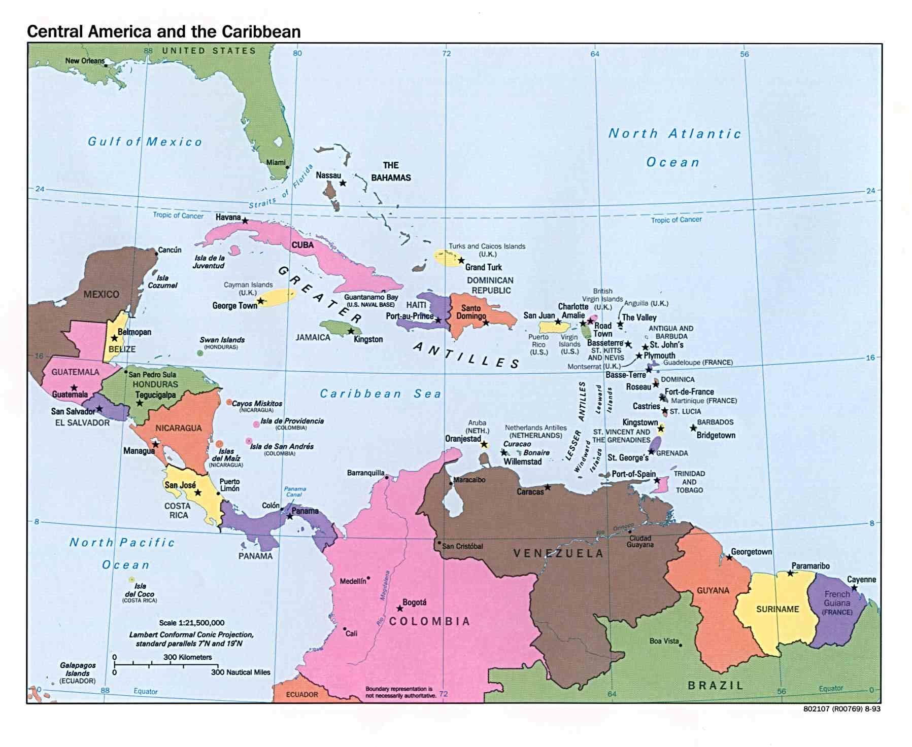 Reisenett Maps of the Americas