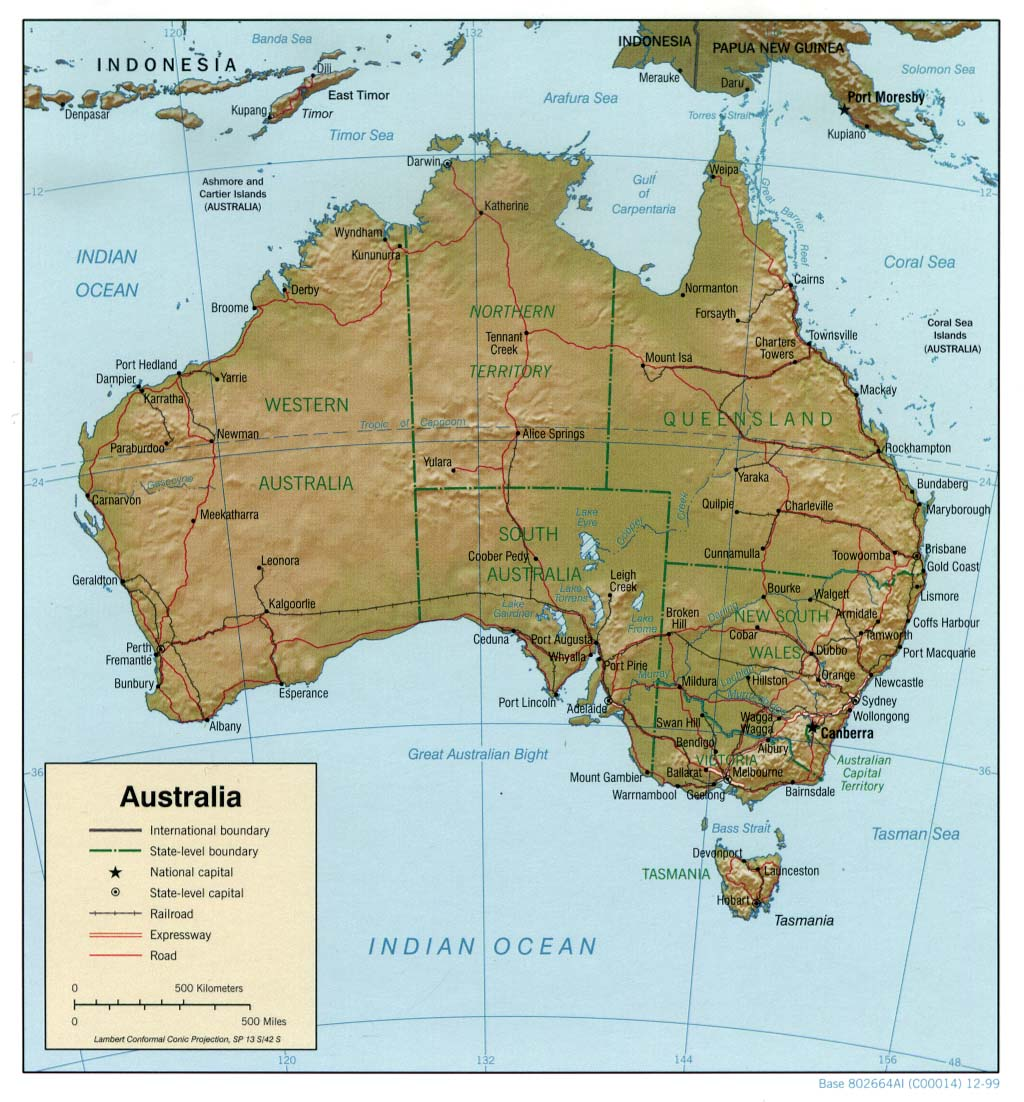 Australia 250k Map.Reisenett Maps Of Australia And The Pacific