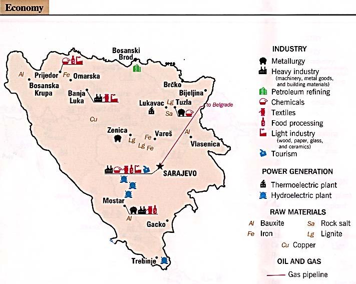 Reisenett Bosnia Maps