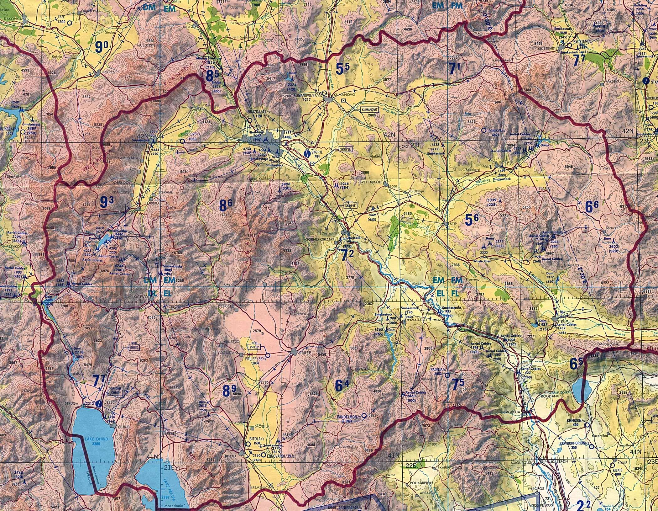 Reisenett Former Yugoslav Republic of Macedonia Maps
