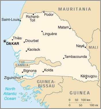 Cartina Fisica Senegal.Reisenett Maps Of Africa
