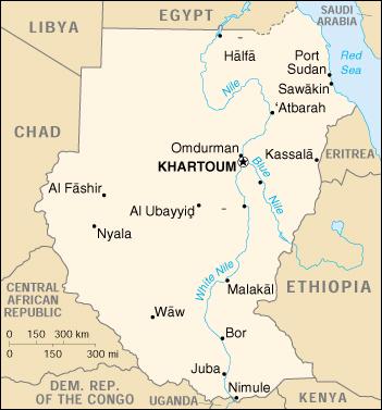 Reisenett Sudan Maps
