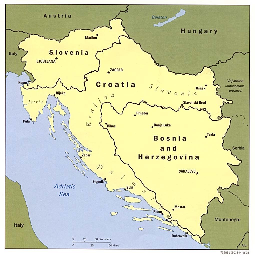 Reisenett Croatia Maps