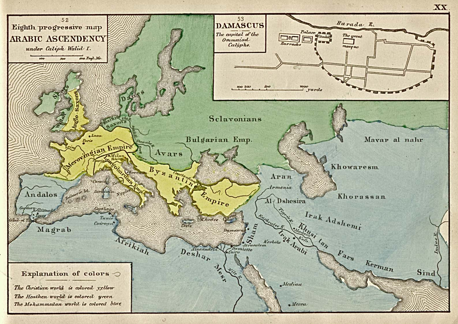 Reisenett historical maps of the middle east the eighth progressive map gumiabroncs Gallery