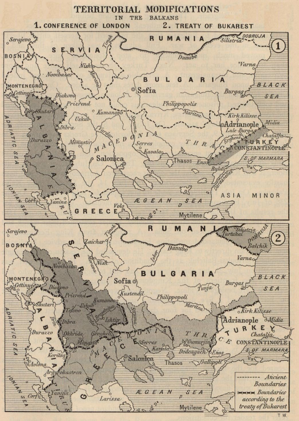 ABSTRACT Title Of Dissertation SALVATION ABROAD MACEDONIAN - Us territorial influence 1914 map labeled