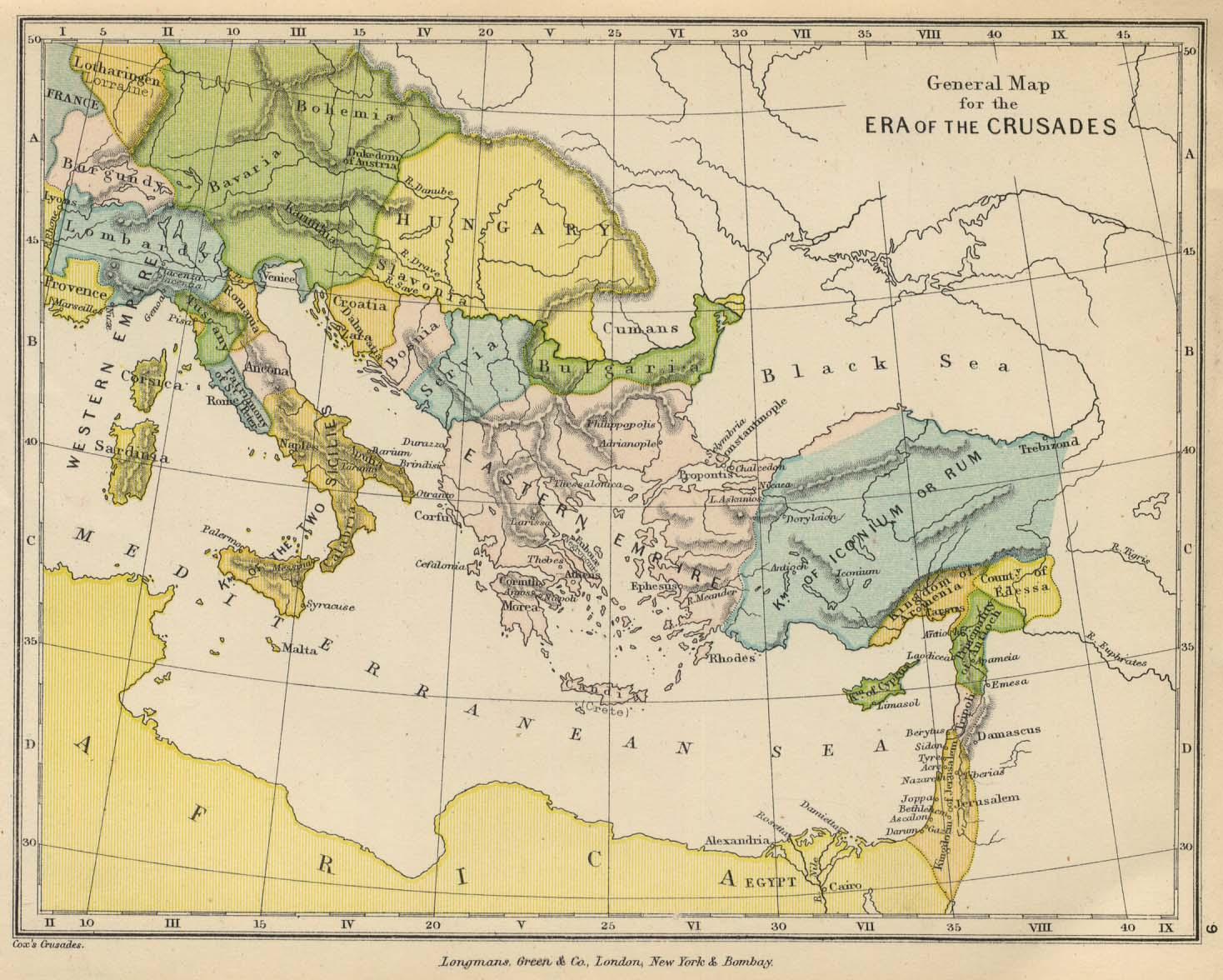 Reisenett historical maps of europe europe crusades era gumiabroncs Images