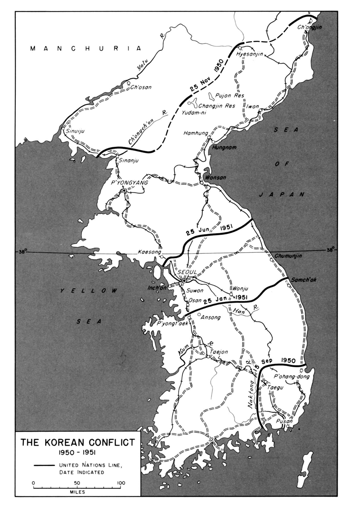 1950 1951 The Korean Conflict 1950 1951