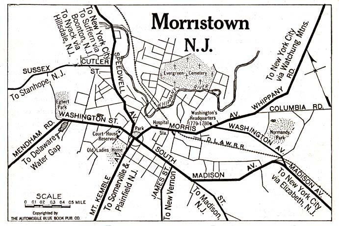 Morristown, New Jersey 1920