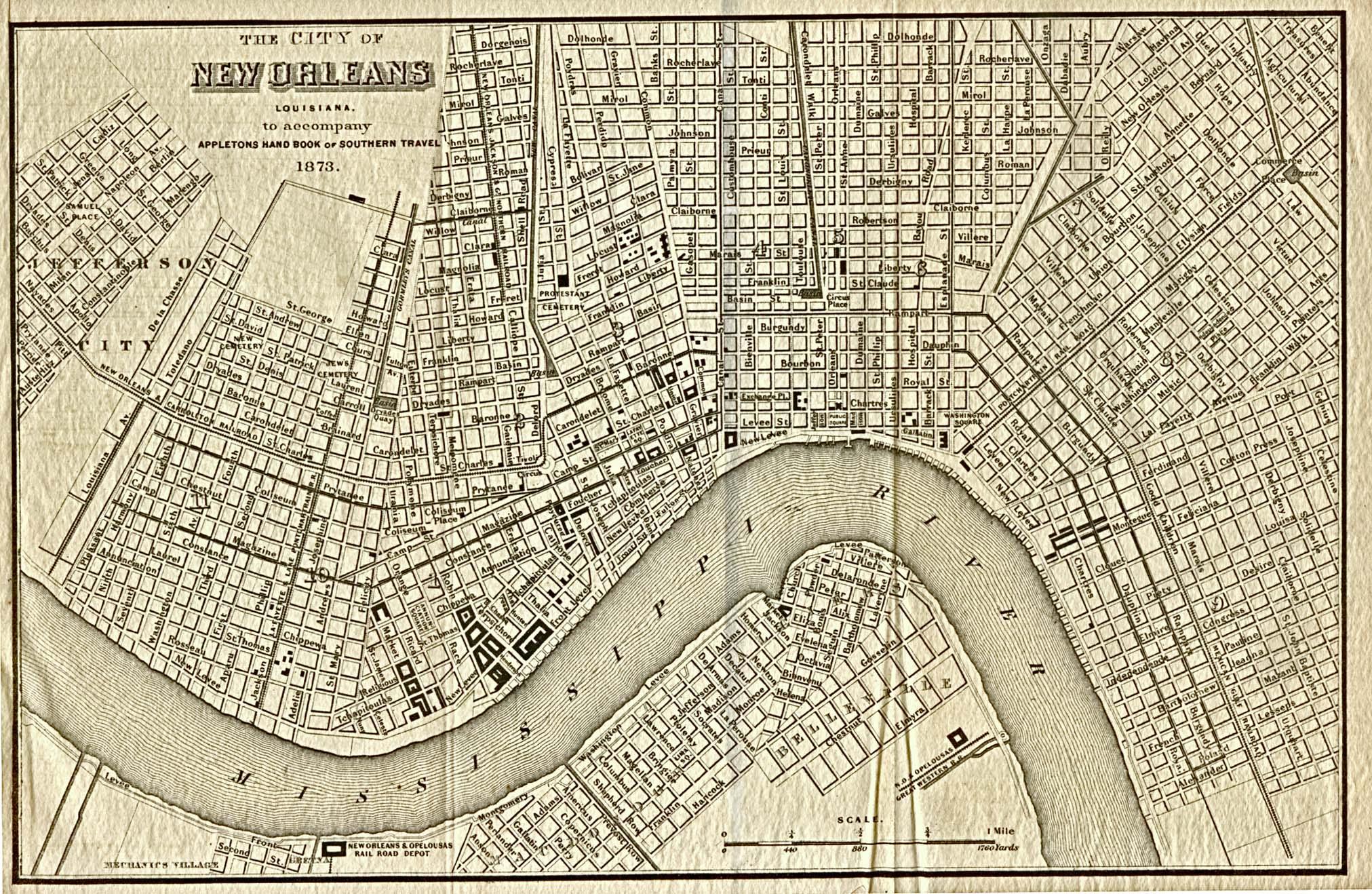 GeometryNet BasicL Louisiana Maps – Tourist Map Of New Orleans