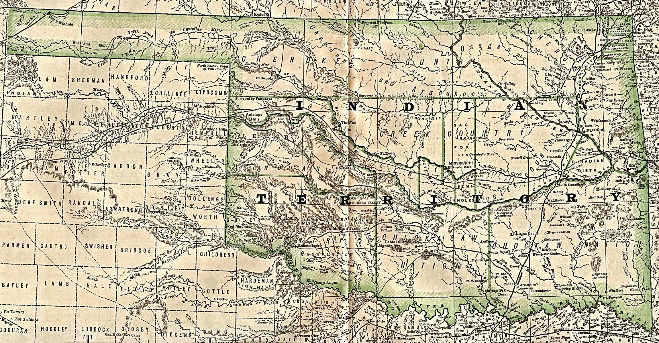 Reisenett Historical Maps Of The United States - Map of the us in 1890