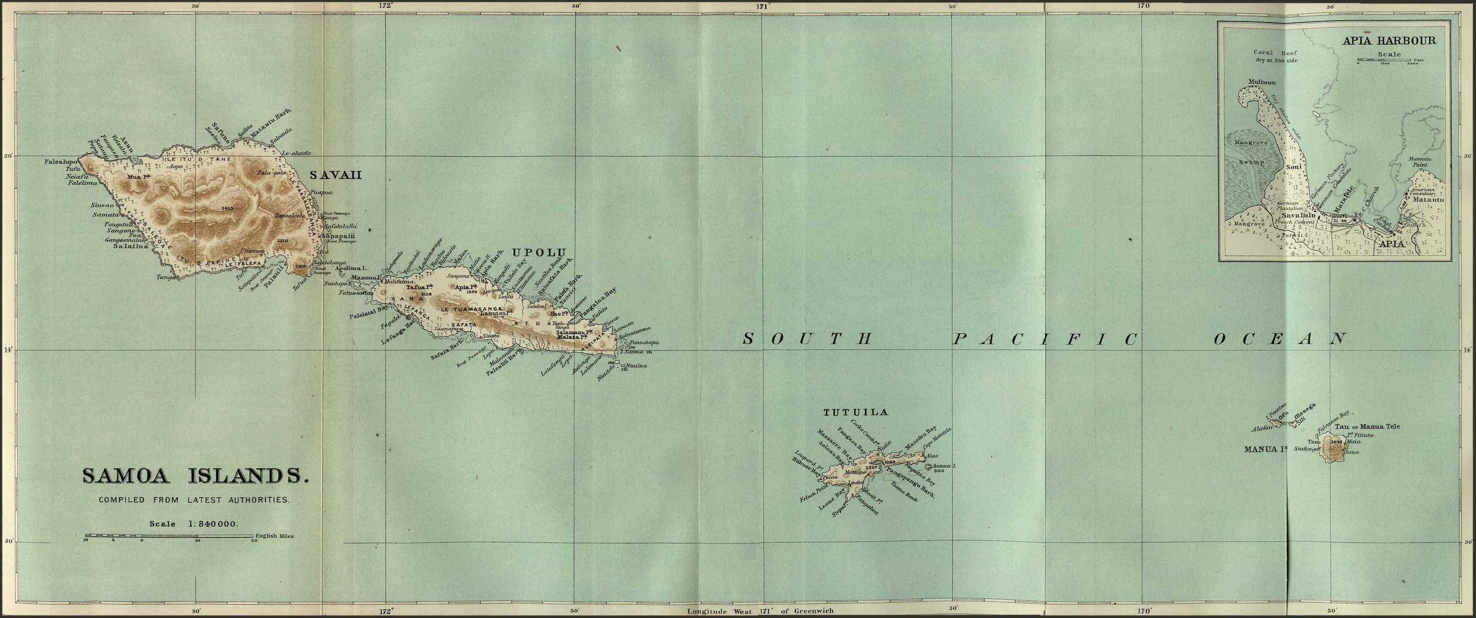 Reisenett American Samoa US External Territory