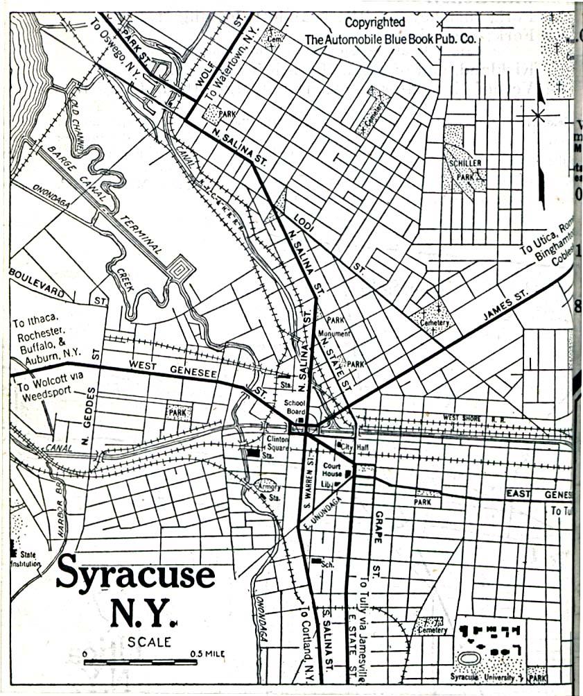 Reisenett New York Maps