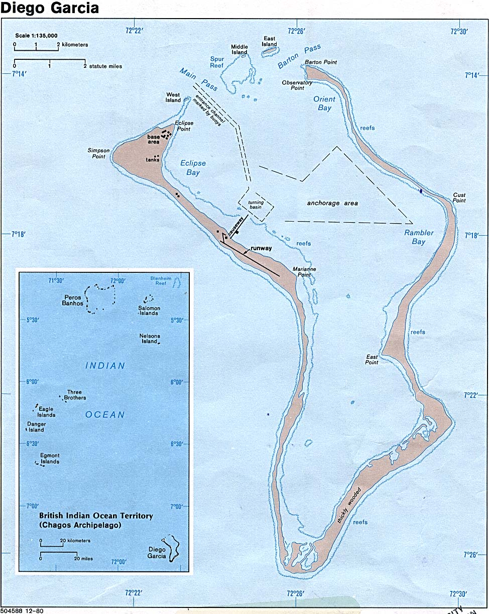 Reisenett Maps Of The Indian Ocean - Indian ocean seychelles map