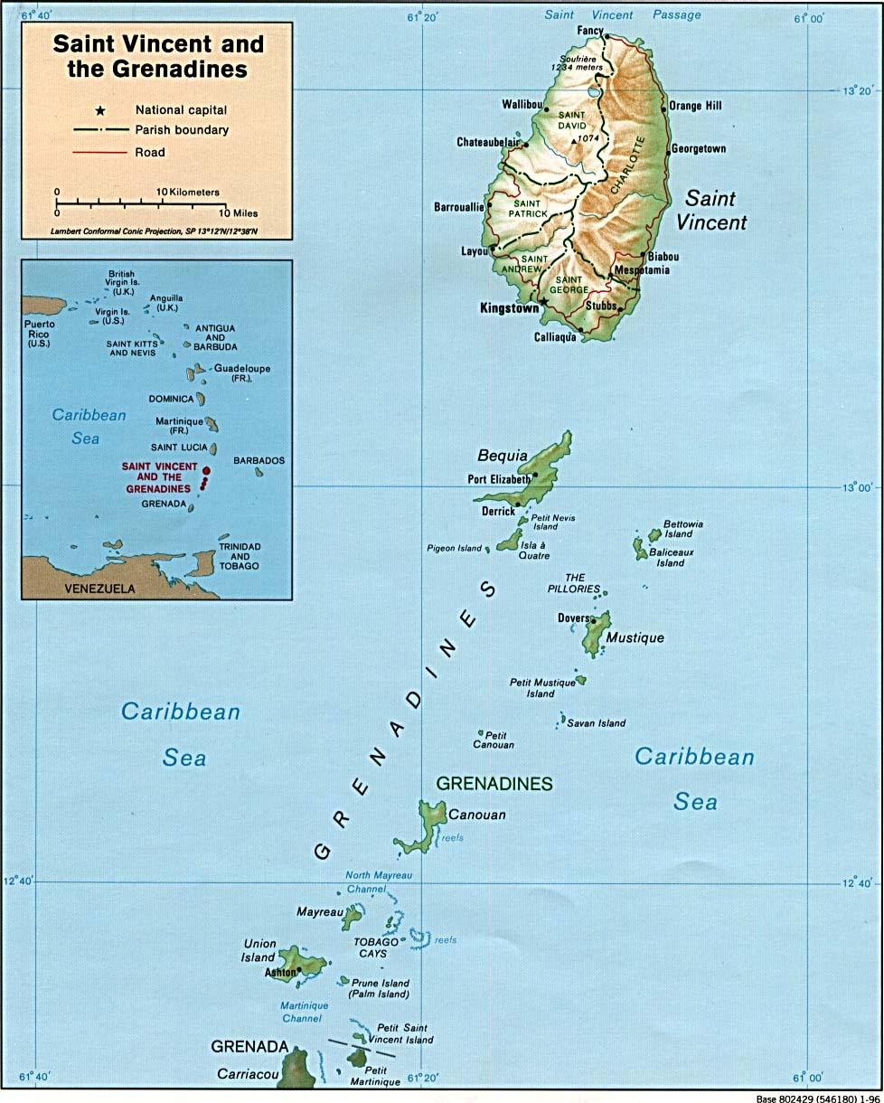 Reisenett Maps Of The Americas - Jamaica shaded relief map 1968