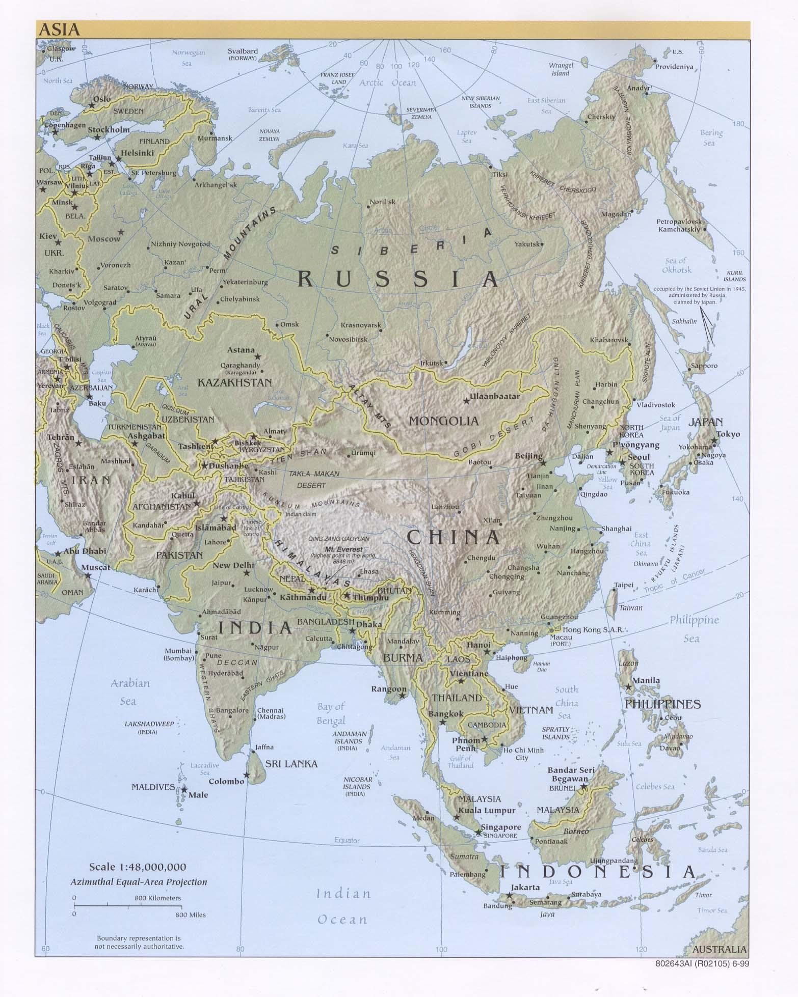 Reisenett maps of asia jpeg image publicscrutiny Images