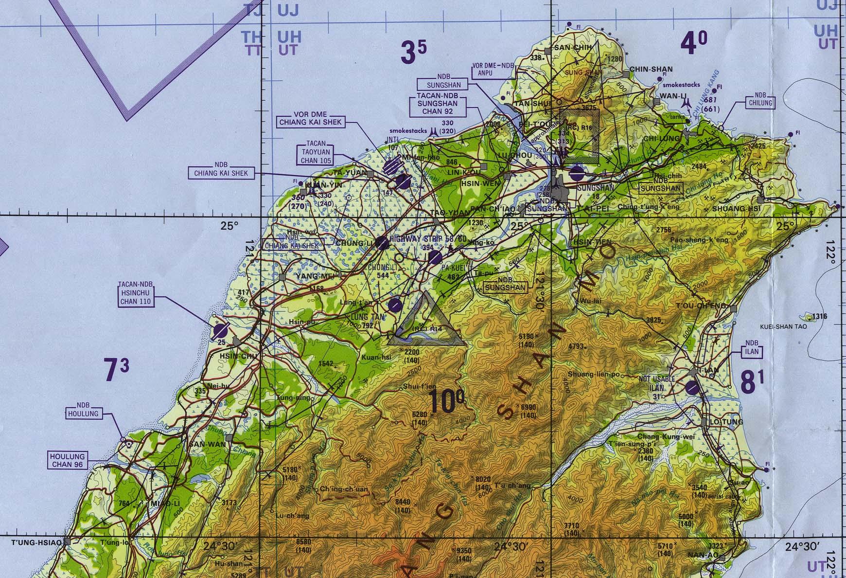 Reisenett China Maps - Us government map of mongolia 1 500000