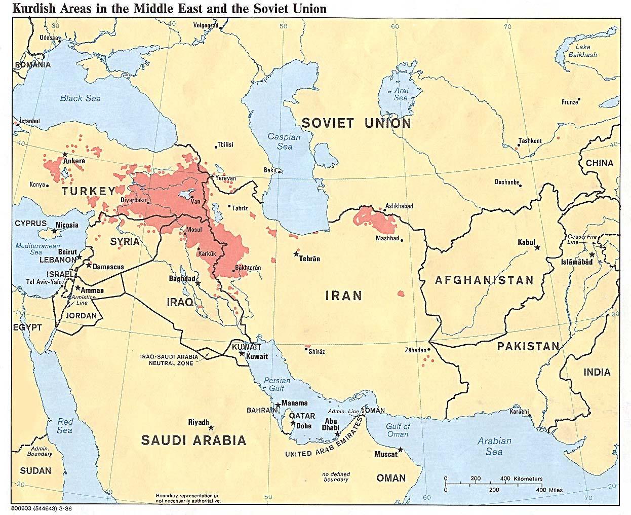 Reisenett: Maps of the Middle East