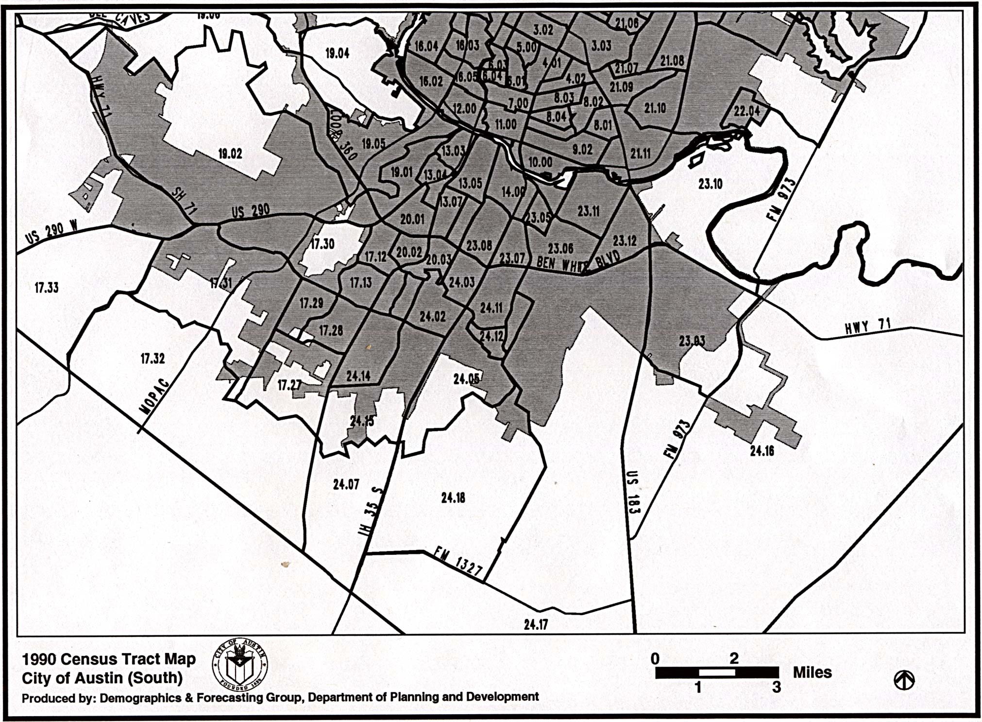 Austin - Census Tracts