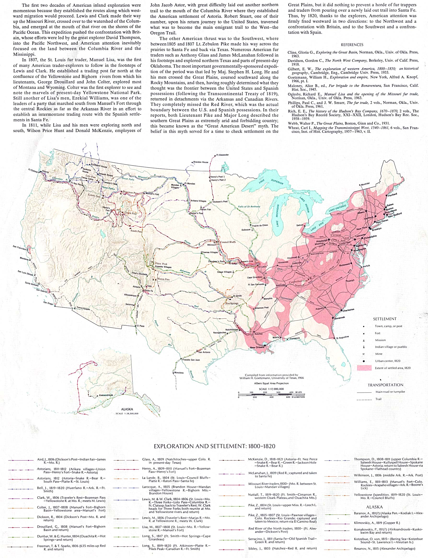 Reisenett Historical Maps Of The United States - Blank us map 1820