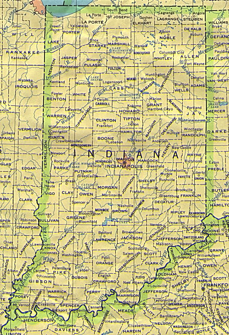 Geometry Net Basic I Indiana Maps