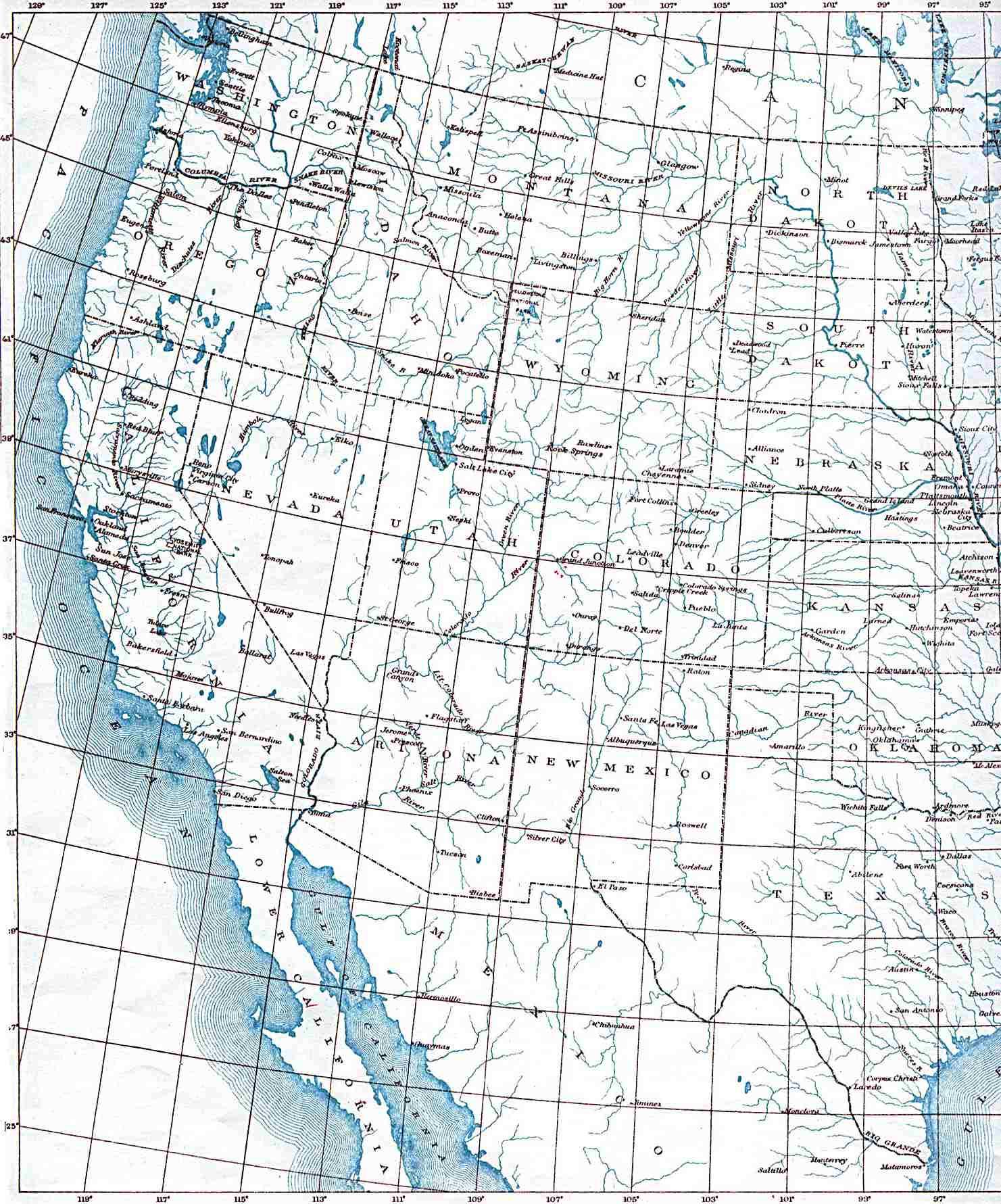 Reisenett: Historical Maps of the United States