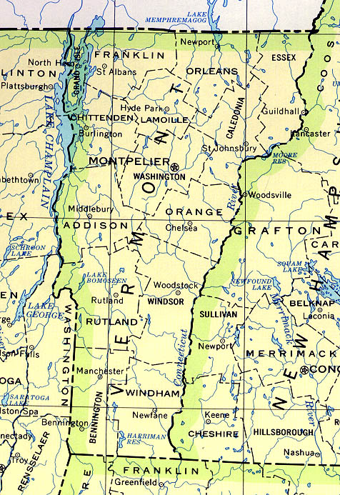 Geometry basicv vermont maps vermont scale 12500000 usgs 1972 limited update 1990 204k sciox Choice Image