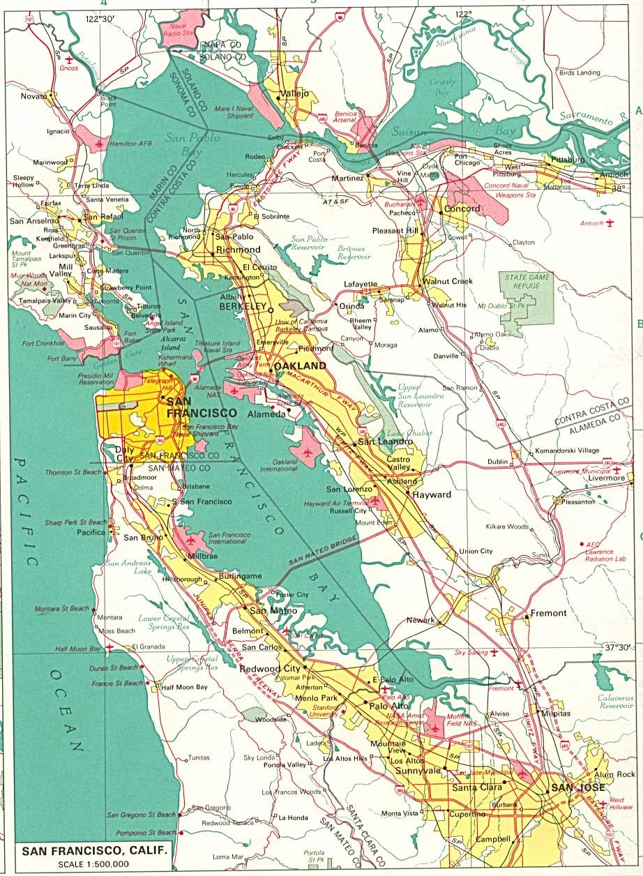 Reisenett California Maps