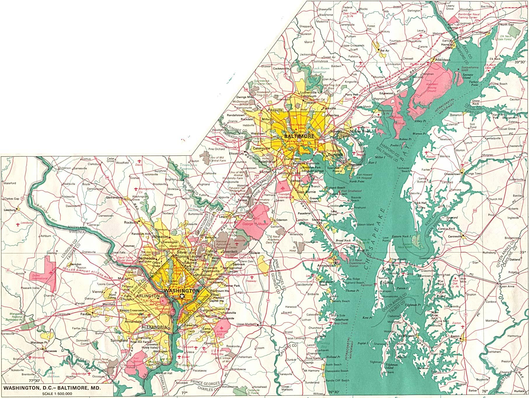 Reisenett World City Maps - Tunisia cities small scale map