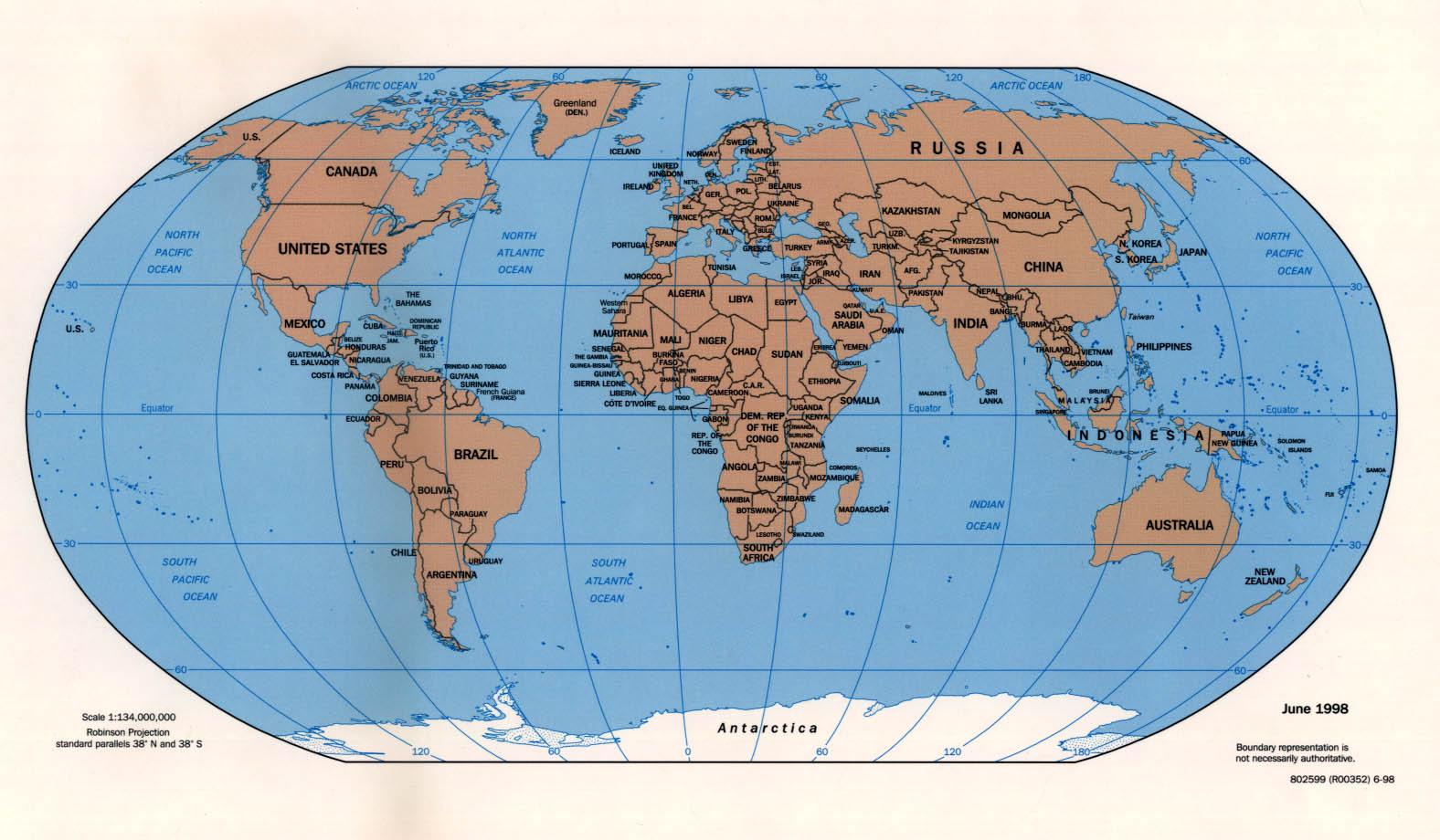 Reisenett Maps of the World